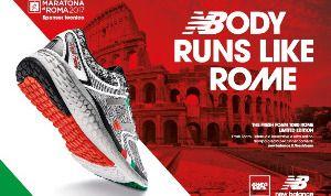 Timmagine con New Balance alla Maratona di Roma 2017